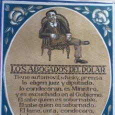 """Carteles: CARTEL DE F. ALVAREZ """"LOS ABOGADOS DEL DOLAR"""". Lote 219005426"""