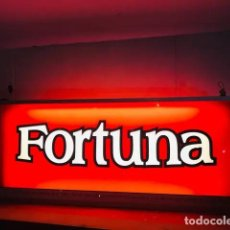 Carteles: CARTEL LUMINOSO FORTUNA. Lote 219250036