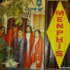 Carteles: AUTÉNTICO POSTER DE LOS AÑOS 60. MEMPHIS. MEDIDAS 78*68 CM.. Lote 219369547