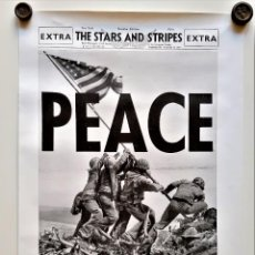 Affiches: 1945 THE STARS AND STRIPES CARTEL POSTER PORTADA PEACE PAZ - 59 X 43.CM. Lote 220433653
