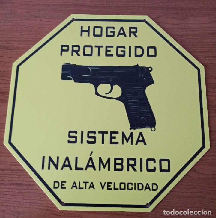 Carteles: Exclusivo cartel metacrilato hogar protegido. - Foto 3 - 220632885