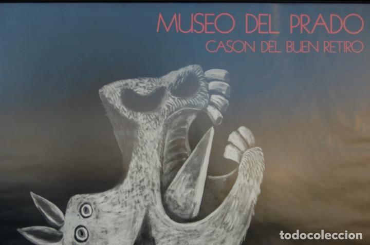 Carteles: Poster boceto del Guernica. Museo del Pardo-Casón del Buen Retiro. Enmarcado 97x86. - Foto 4 - 220717452