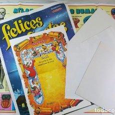 Carteles: LOTE 7 POSTERS DE PETETE DE DIVERSOS TAMAÑOS, INCLUYE DIPLOMA RECUERDO DEL CURSO, VER DESCRIPCION. Lote 221695128