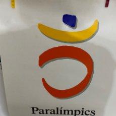Carteles: CARTEL OFICIAL OLIMPIADAS 1992. LOGO PARAOLIMPICOS. Lote 221767440