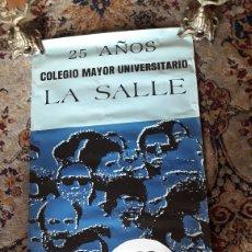 Carteles: CARTEL 25 AÑOS, COLEGIO MAYOR UNIVERSITARIO LA SALLE. Lote 221778492