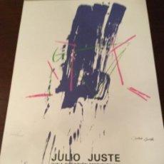 Carteles: CARTEL SALA DE ARTE , JULIO JUSTE, 1983. Lote 221794315