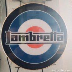 Carteles: PRECIOSO CARTEL LUMINOSO DE LAMBRETTA CON INTERRUPTOR. Lote 222534780