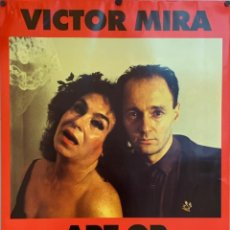 Affissi: CARTEL DE VICTOR MIRA. ART OR PROSTITUTION. Lote 222547273