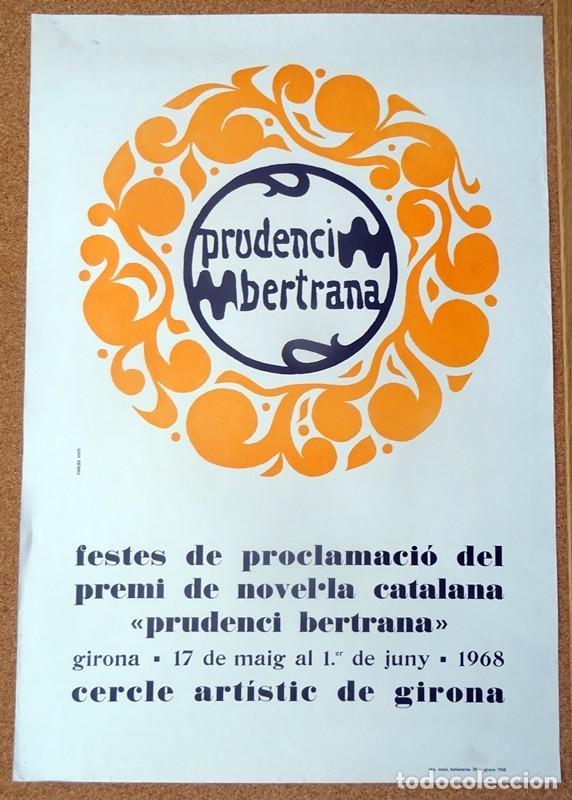 CARTEL PRUDENCI BERTRANA (Coleccionismo - Carteles Gran Formato - Carteles Varios)
