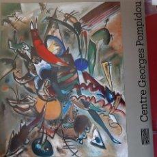 Carteles: CARTEL EXPOSICIÓN KANDINSKY - CENTRO G.POMPIDOU (PARIS) 1979. Lote 224567086