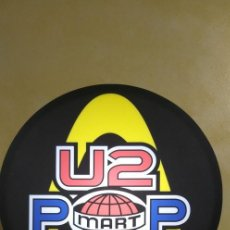 Carteles: CARTEL LUMINOSO DE U2 TOUR POP MART TOUR 97 - MUY BUEN ESTADO. Lote 225098615