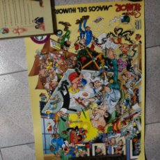 Carteles: POSTER ORIGINAL MORTADELO FILEMON Y... EDICIONES B IBAÑEZ. Lote 225612940