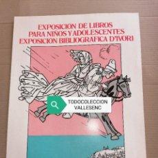 Carteles: CARTEL 30X43CMS EXPOSICIÓN D'IVORI, BARCELONA 1975. Lote 227193510