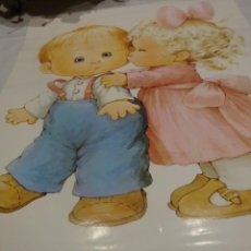 Carteles: CARTEL POSTER INFANTIL GRANDE, 60X42 CMS,MOREHEAD, PRINTED IN GERMANY, 1987. Lote 229119670