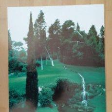 Carteles: CARTEL RUBIO I TUDURI 1891-1981 CENTRE CULTURA LA CAIXA BARCELONA 1985 EL JARDI OBRA D'ART. Lote 229834780
