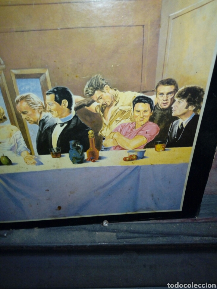 Carteles: Poster de la santa cena.con humor. Sobre carton muy grueso - Foto 3 - 230419690