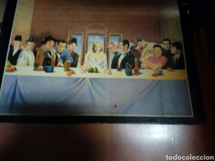 Carteles: Poster de la santa cena.con humor. Sobre carton muy grueso - Foto 4 - 230419690
