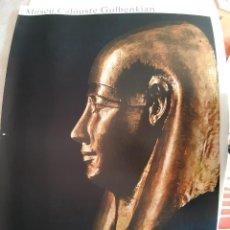 Carteles: CARTEL MUSEO CALOUSTE GULBENKIAN .LISBOA ( SARCOFAGO). Lote 230983305