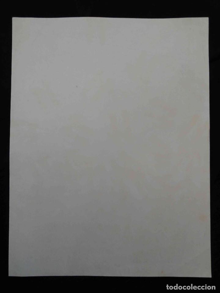 Carteles: Cartel 11 PREMI INTERNACIONAL DE DIBUIX JOAN MIRÓ - Arquitectes Cat. i Balears - Litografia, 1972. - Foto 2 - 232363625
