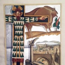 Carteles: EL ARTE EN ESPAÑA. EXPOSICIÓN INT DE BARCELONA. 1929. (SEIX BARRAL. CARTEL LITOGRÁFICO ORIGINAL. Lote 234542940