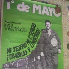 Affissi: CARTEL POLÍTICO TRANSICIÓN MC, PCE, PSP, SOCIALISTA. Lote 235265225