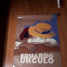Affissi: CARTEL DE EDUARDO URCULO DE EXPOSICIÓN CENTRO CULTURAL DE LA VILLA 1997.. Lote 236436725
