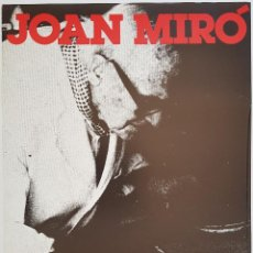 Affissi: JOAN MIRÓ. SALA PARPALLÓ, 1980. 70X49 CM. OFFSET. Lote 239894245