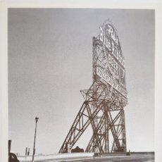 Affissi: WALKER EVANS. EXPOSICIÓN EN SALA PARPALLÓ, VLC. 1983. 70X52. Lote 241438545