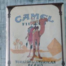 Carteles: CARTEL -TINTIN CAMEL - BELLVER, TINTÍN CAMEL, CARTEL ORIGINAL, EDITADO POR PORT SAID, 65,6×49,2 CMS. Lote 204783930