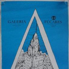 Carteles: CARTEL EXPOSICIÓN MARISCAL - METROPOLIS - CIUDAD REAL, 1982. LITOGRAFIA. Lote 245956705