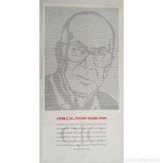 Affissi: CARTEL POSTER LIBRO 84 X 42 CMS FAMILIA PASCUAL DUARTE EDITADO PREMIO NOBEL CAMILO JOSE CELA, 1990.. Lote 250182000