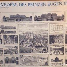 Carteles: CARTEL-PÓSTER DE EL BELVEDERE (MIRADOR)DEL PRÍNCIPE EUGENIO EN VIENA; 1714-1723; LIDIARTE, 1985. Lote 253271445
