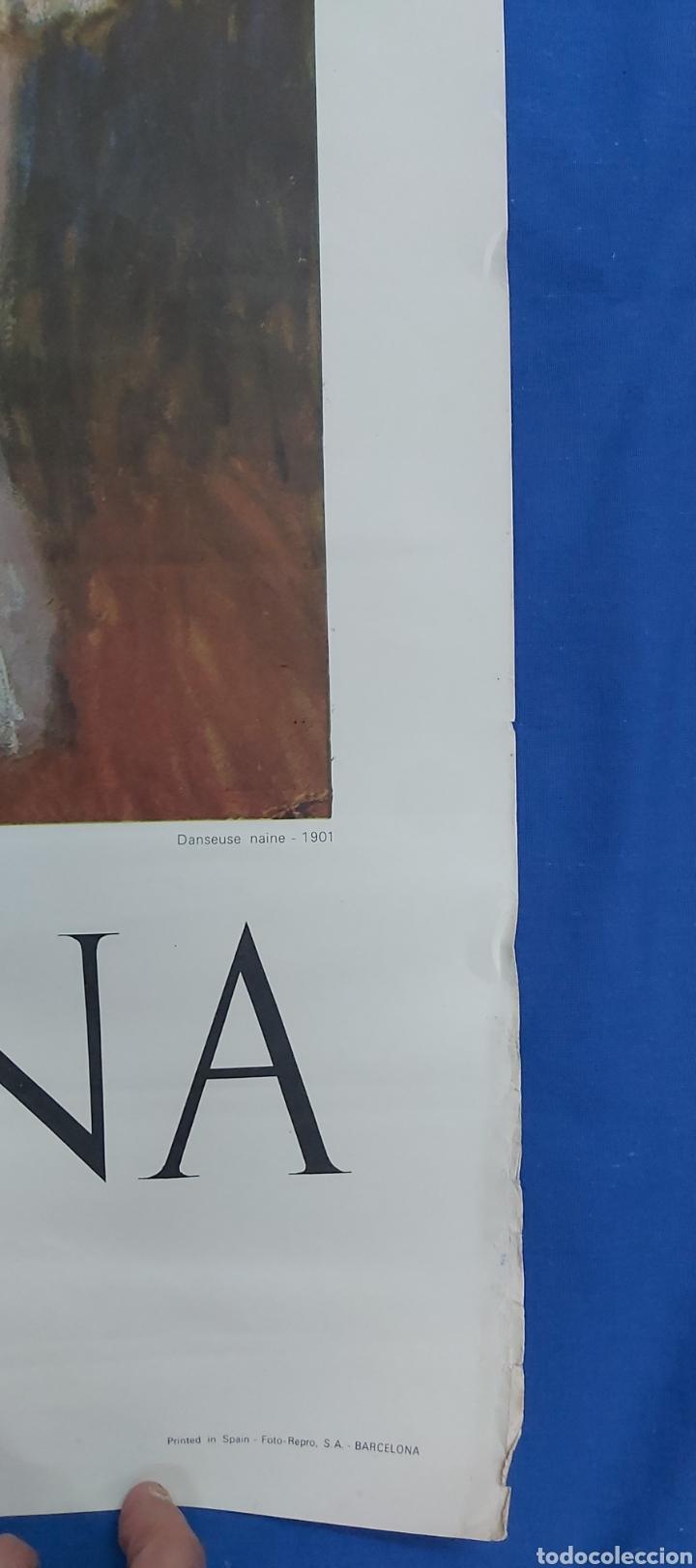 Carteles: DANSEUSE NAINE. CARTEL ORIGINAL MUSEO PICASSO PALACIO AGUILAR 1966 - Foto 5 - 97830534