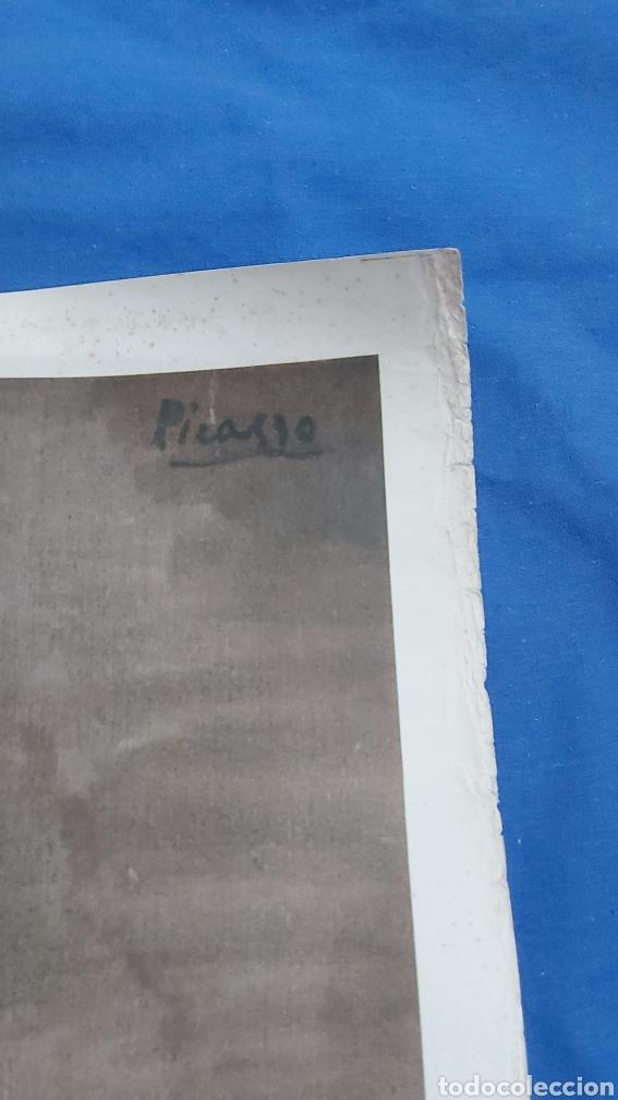 Carteles: MADAME CANALS. CARTEL ORIGINAL MUSEO PICASSO PALACIO AGUILAR 1966 - Foto 3 - 97841175