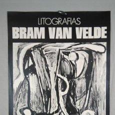 Carteles: BRAM VAN VELDE. LITOGRAFÍAS. GALERÍA SEIQUER, MADRID, 1974. Lote 264462814