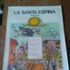 Carteles: POSTER : LA SANTA ESPINA .SARDANA. Lote 269481843