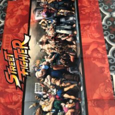 Carteles: POSTER STREET FIGHTER 1 METRO X 55 CM APROX + FASCICULO RYU - ALTAYA. Lote 284446798