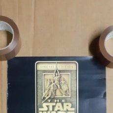 Carteles: CARTEL PROMOCIONAL BANDAS SONORAS STAR WARS. PRODUCTO OFICIAL DE DI. 30 X 42 CM. Lote 288153273