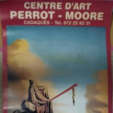 Carteles: CARTEL SALVADOR DALI CENTRE D'ART PERROT-MOORE COL.LECCIO PERROT-MOORE.. Lote 288922938