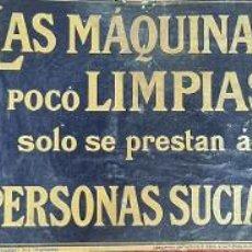 Carteles: CARTELES MAXIMAS. INDUSTRIALES. RELIEVES ARTISTICOS. E. RIBA. CIRCA 1940.. Lote 294557213