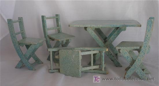 antiguos muebles de jardin para casa de muñecas - Comprar Casas de ...
