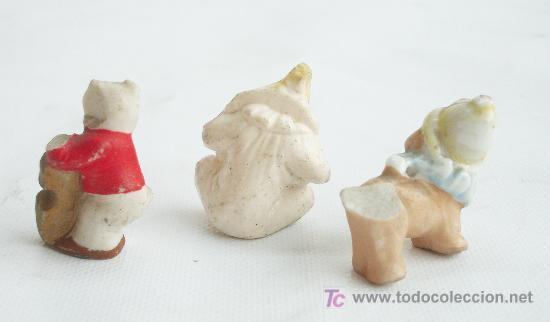 Casas de Muñecas: Tres figuras de circo de Biscuit en miniatura. - Foto 2 - 25938462