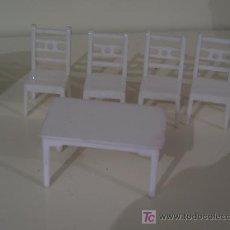 Casas de Muñecas: JUEGO DE COCINA AÑOS 40 PARA MUÑECA ANTIGUO . Lote 21068396