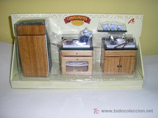 Para tu casa de muñecas muebles cocina natural- - Verkauft durch ...