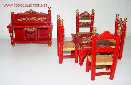 Muebles para casa de mu ecas formado por aparad comprar for Casas de muebles online