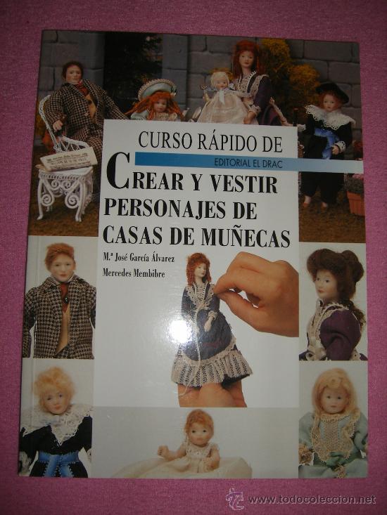 Libro Crear Y Vestir Personajes De Casas De Mu Comprar Casas De - Vestir-casas