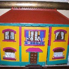 Casas de Muñecas: CASA DE MUÑECAS AÑOS 30 FABRICADA DE ENCARGO EN DENIA. Lote 25241152