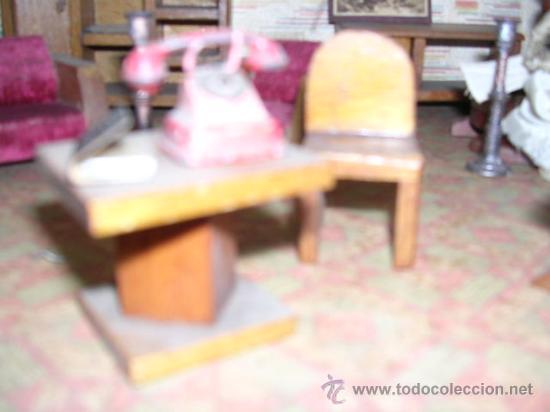 Casas de Muñecas: CASA DE MUÑECAS,AÑOS 20 COMPLETA CON MUÑECAS Y MOBILIARIO TODO DE EPOCA,VER FOTOGRAFIAS ADICIONALES. - Foto 50 - 21741984