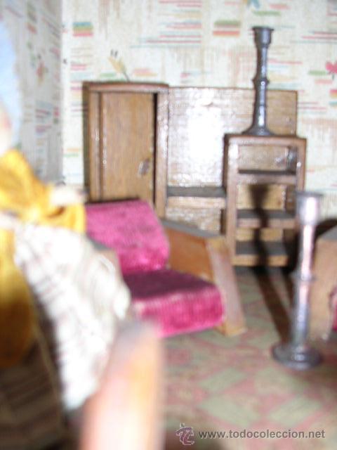 Casas de Muñecas: CASA DE MUÑECAS,AÑOS 20 COMPLETA CON MUÑECAS Y MOBILIARIO TODO DE EPOCA,VER FOTOGRAFIAS ADICIONALES. - Foto 51 - 21741984