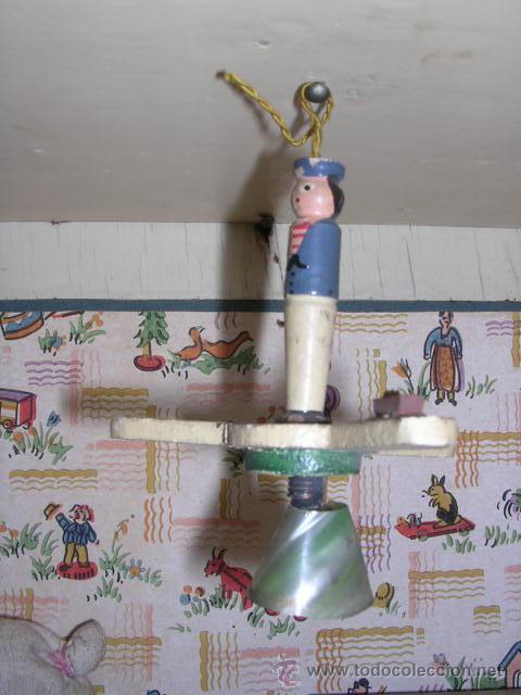 Casas de Muñecas: CASA DE MUÑECAS,AÑOS 20 COMPLETA CON MUÑECAS Y MOBILIARIO TODO DE EPOCA,VER FOTOGRAFIAS ADICIONALES. - Foto 55 - 21741984